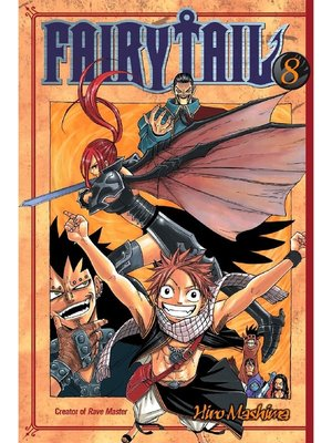 cover image of Fairy Tail, Volume 8